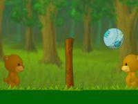 Bären Kopfball