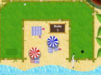 Multiplayer Golf auf der Insel